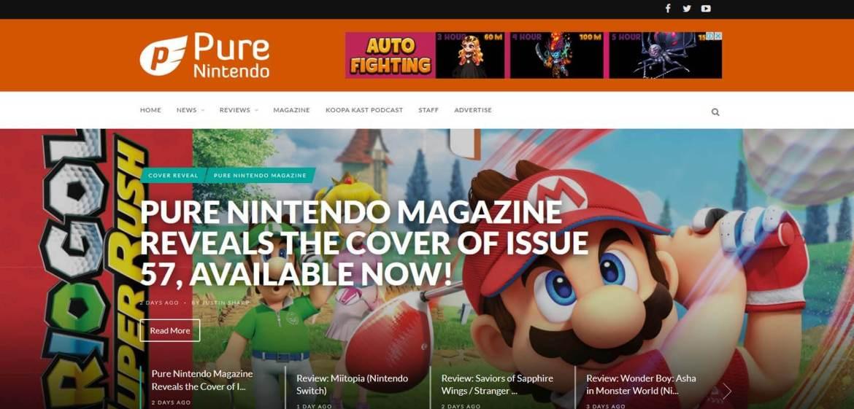 Pure Nintendo Homepage