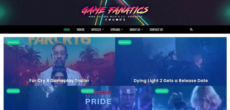 The Game Fanatics Homepage