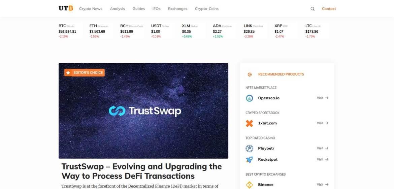 Use The Bitcoin Homepage
