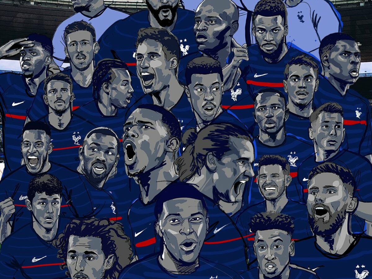 Check out this fantastic collection of france football wallpapers, with 65 france football background images for your desktop, phone or tablet. Euro 2020 France Announce 26 Man Squad For The European Championships Karim Benzema Returns After 5 Years Firstsportz