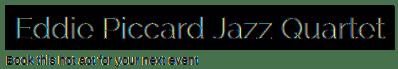 logo for eddie piccard jazz
