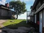 Bootshaus eines Seglervereins
