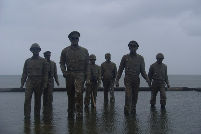 The landing memorial. Photo by Cherry Viernes.