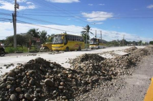 Highway under repair.