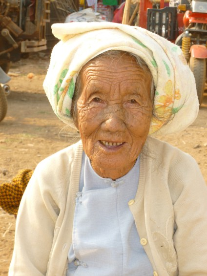 One of the faces of Burma.
