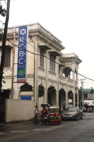 Maria Golez ancestral house, now an RCBC branch.