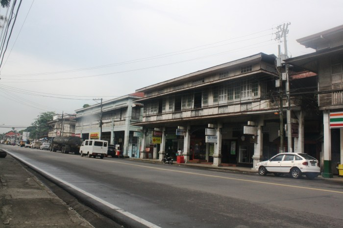 Other ancestral homes along the highway that now house various commercial establishments.