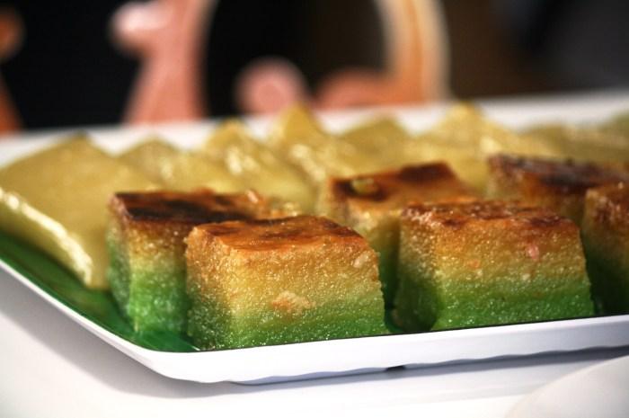 Cassava cake and alupi.