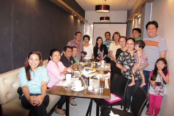 Negros bloggers with the FNC team.