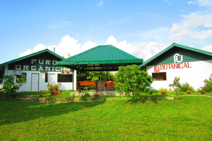 The RU Botanicals and PURO Organic facilities.