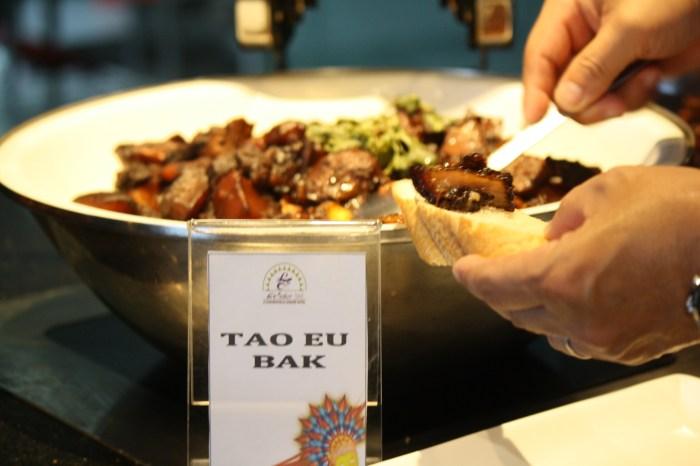 Tao Eu Bak is like the Filipino dish, pork humba.