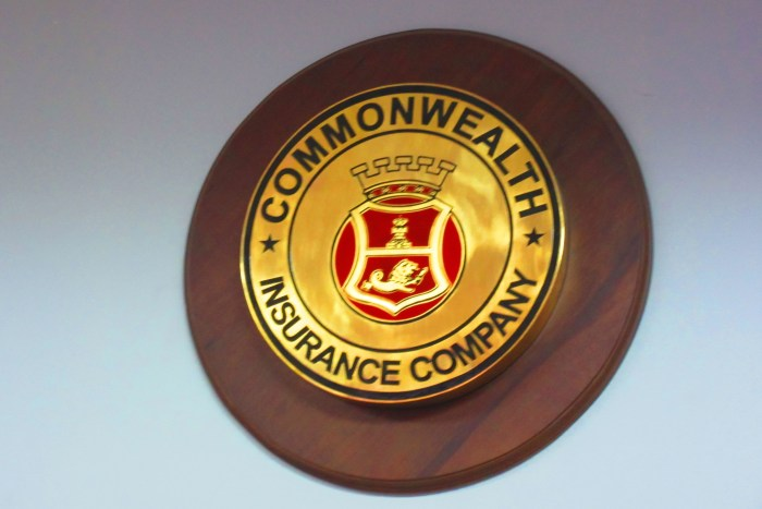 Commonwealth Insurance Company was established in 1935.