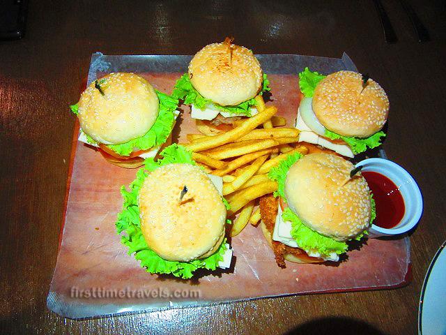Tent Five burgers