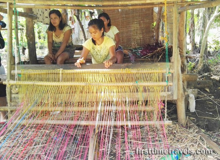 Camotes Islands Soli-Soli Weaving