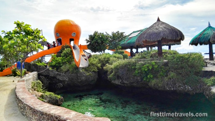 Camotes Islands Mangodlong Rock