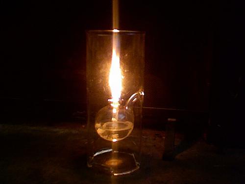 oil lamp photo