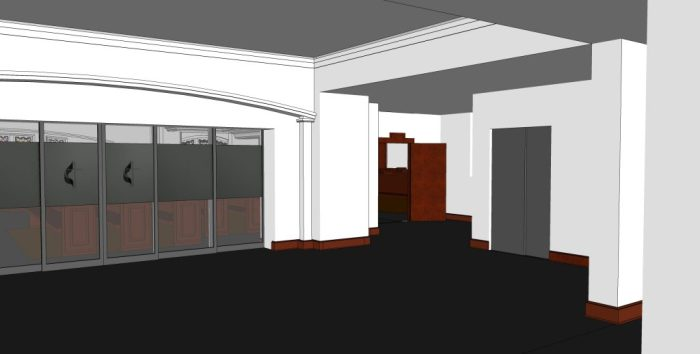 4 - Hospitality Room - Facing Sanctuary Entrance