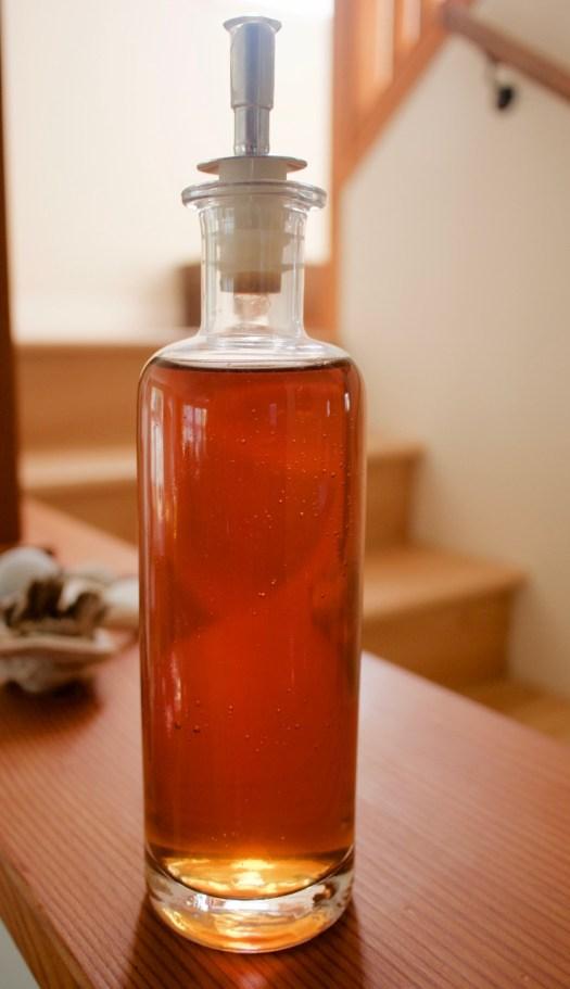 Recipe for homemade rhubarb vinegar first we eat - Homemade vinegar recipes ...