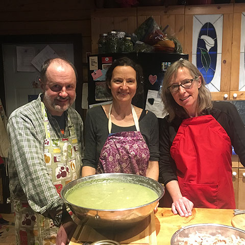 Suzanne's Blog: Guest Chef Dishes Out Warmth and Memories