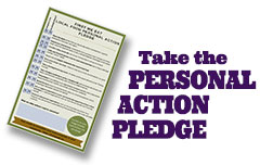 Take the Personal Action Pledge