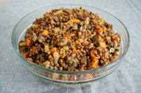 Braised French Lentils