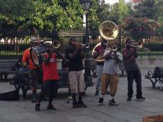 Music on the streets of NOLA