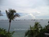Di atas menara Pantai Palawan.