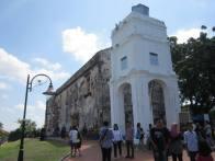 reruntuhan Gereja St. Paul, Bukit Famosa