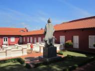 Patung Laksamana Cheng Ho di Galeri Chengho Stadthuys