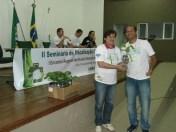 Sorteio de mudas de pau brasil e ipê amarelo entre participantes