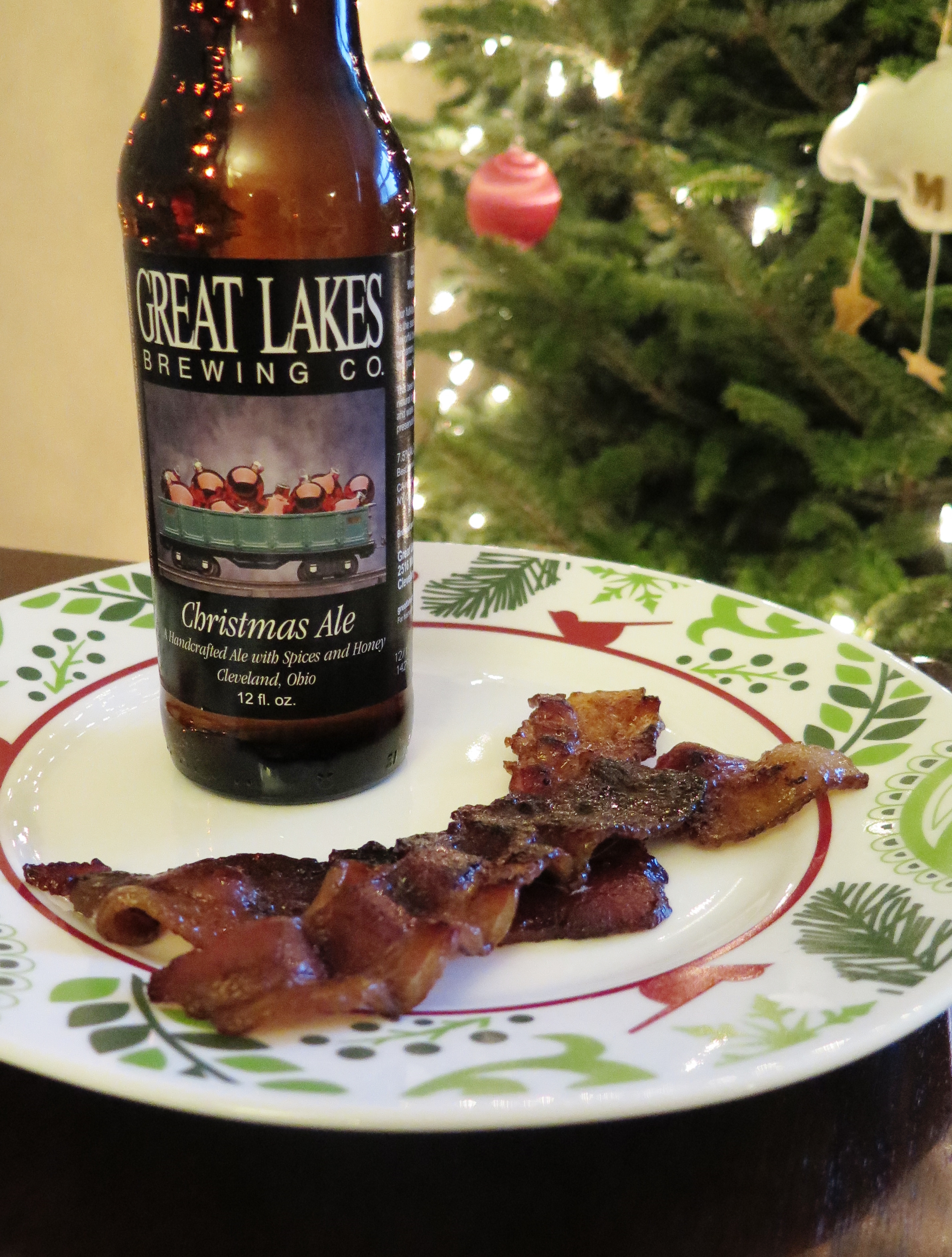 Christmas Ale Bacon - Fiscally Chic
