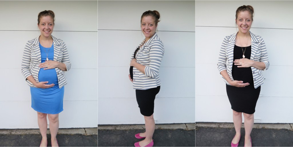 maternity stitch fix - striped blazer