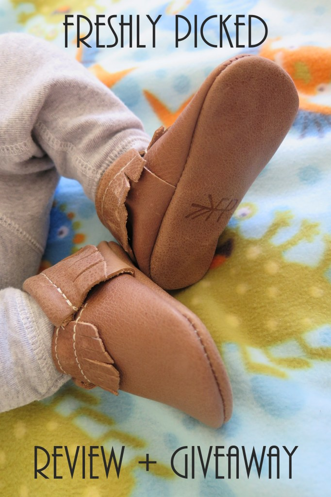 Freshly Picked baby moccasin review and giveaway