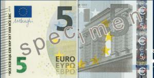 nouveau billet 5 euros 300x152 Fiscal News : Un nouveau billet de 5 € le 02/05/2013