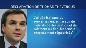 Thomas Thévenoud demissione