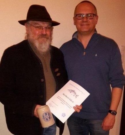 40 Jahre Mitglied Heribert Flierl