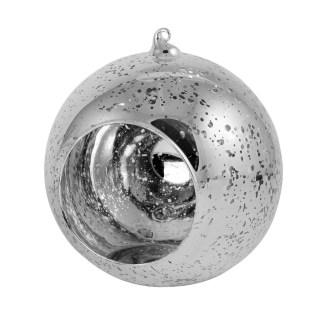 "Silver Mercury Hanging Globe, 6.5"" image"
