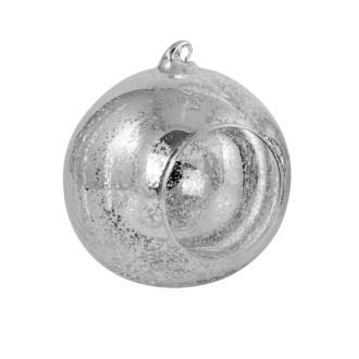 "Silver Mercury Hanging Globe, 5.5"" image"