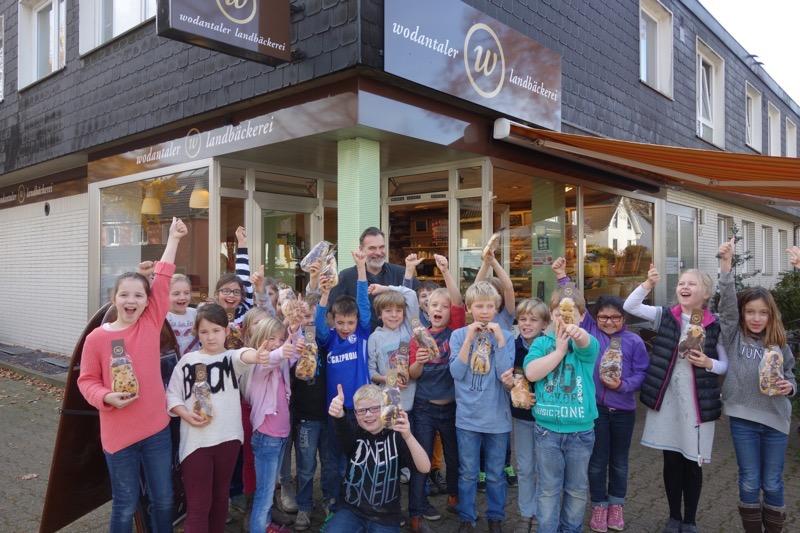 Besuch der Wodantaler Landbäckerei