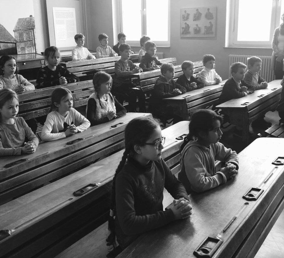 Schulalltag vor 100 Jahren