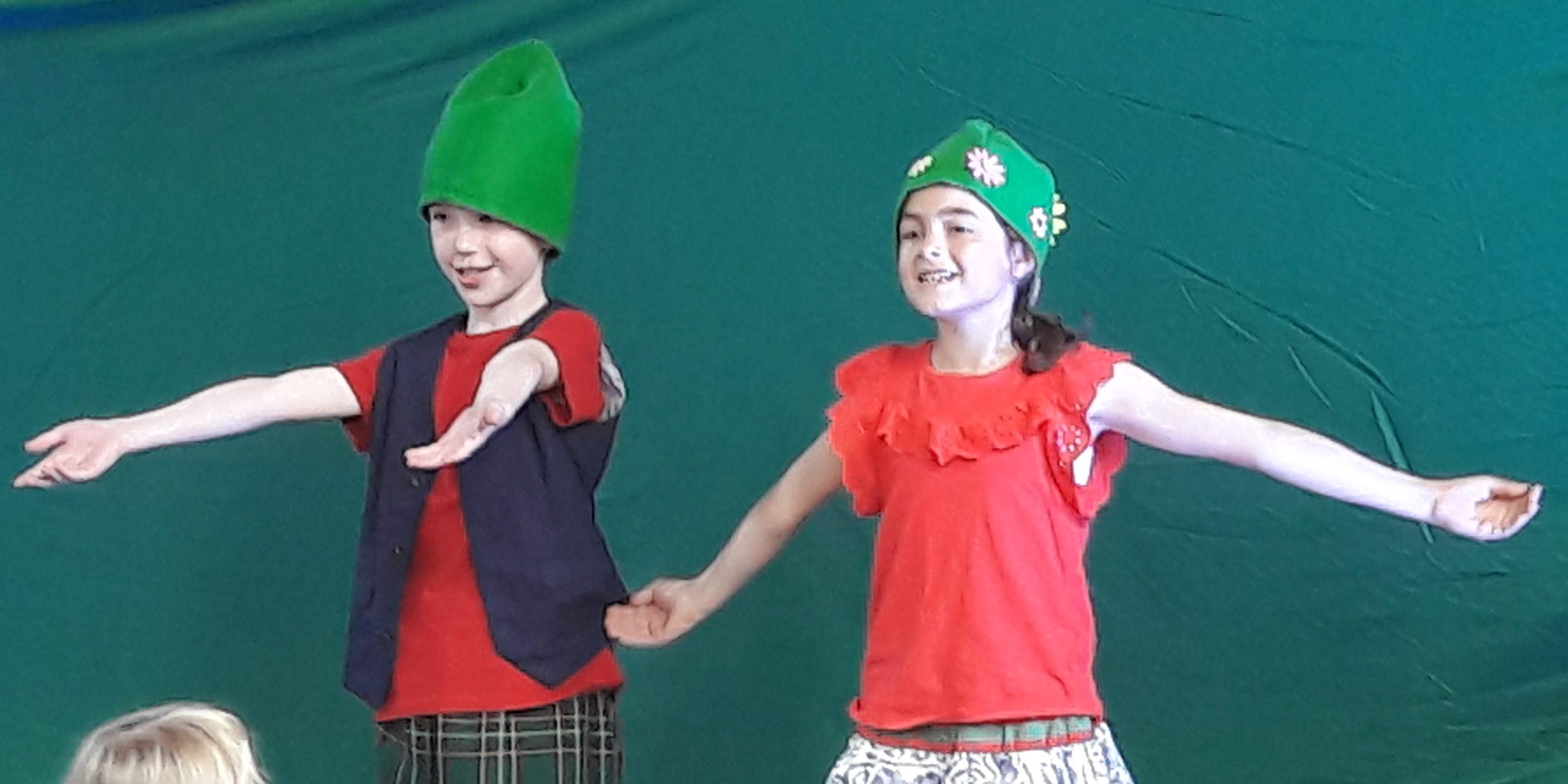 Grandiose Schauspielleistung unserer Kinder!