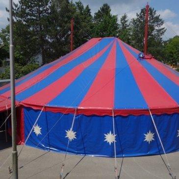 Zirkus – Countdown – Noch 4 Tage bis zum Zeltaufbau