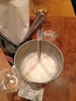 Vanilla milkshake at GBK