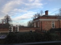 Blue sky in Darlington