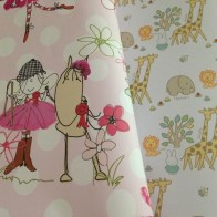 Cute wrapping paper for the little people.