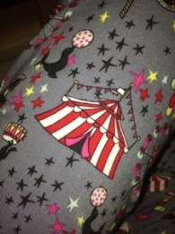 Circus themed pjs