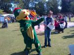 Snappy won the Mascot race in September