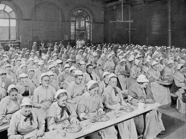 inmates in Mary Place's workhouse