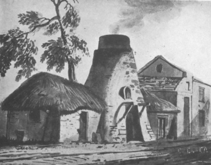 Tile-Kiln-pottery lane-notting hill