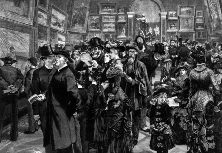 Wernisaż-Royal-Academy-of-Arts-sezon-towarzyski-Londyn-1880